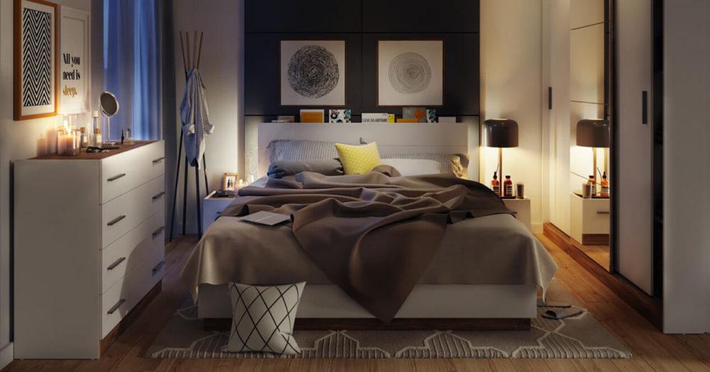 Dento Bedroom LED