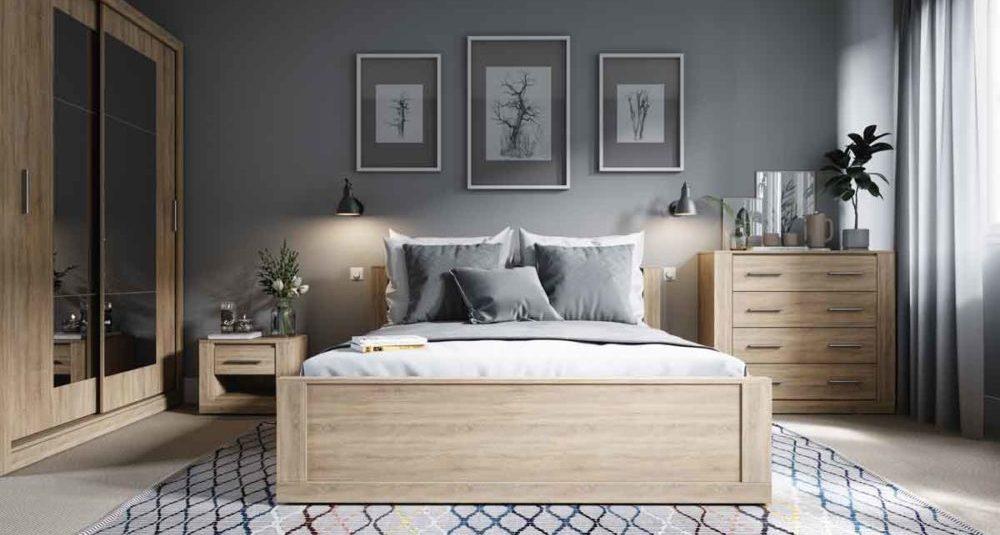 Idea Bedroom Oak